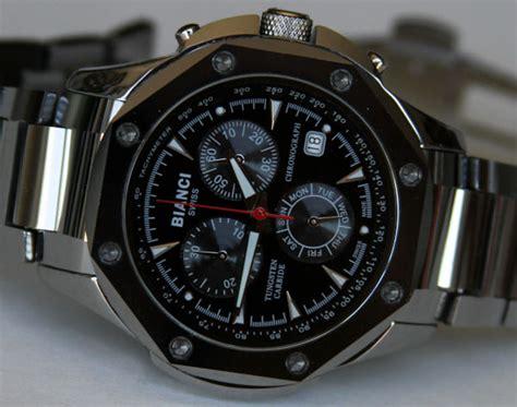 tungsten watches bianci 5837m tungsten watch review ablogtowatch