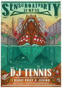 party boat sub indo ra sensu boat party feat dj tennis at clyde cruises