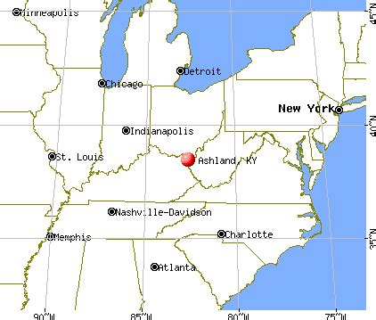 kentucky map ashland ashland kentucky ky profile population maps real