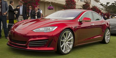 Saleen Tesla Saleen Foursixteen Performance Modified Tesla Model S Debut