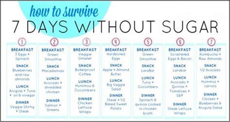 7 Day Sugar Detox Plan by Try This 7 Day Sugar Detox Menu Plan And Lose 30 Lbs