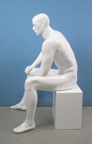 manichino seduto 3516 lato manichino seduto uomo muscoli scolpiti