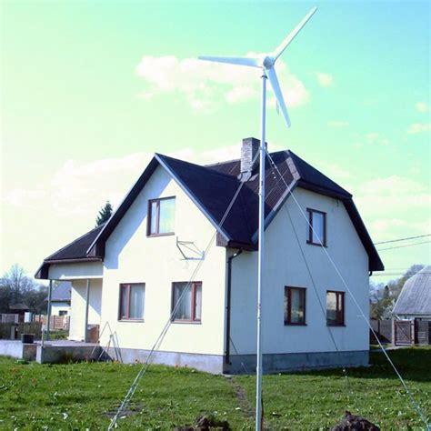 500w wind turbine for house from china manufacturer
