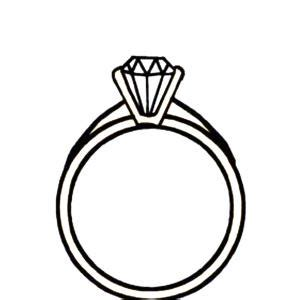 Wedding Ring Clipart Black And White by Clipart Black And White Ring Collection