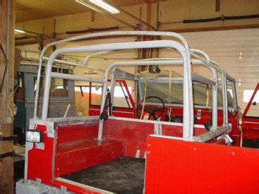 land rover roll and safari cages