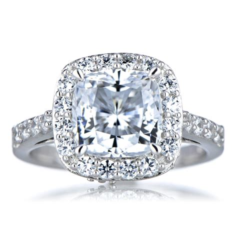 Cushion Cut Engagement Rings cushion cut cushion cut engagement rings