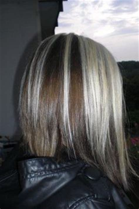 how to add colour chunks to hairstyles blonde chunks on pinterest thick highlights chunky