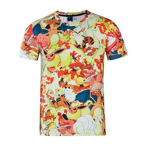 s clothing new arrival o neck sleeve 3d t shirt