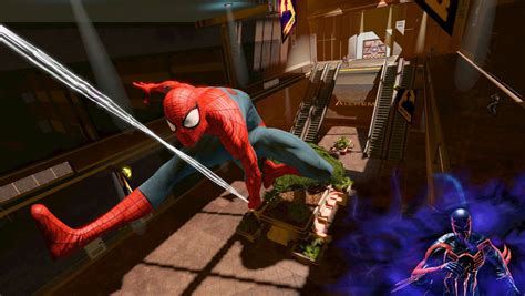 spiderman swing games spider man edge of time review digital trends