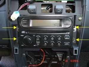 Nissan Xterra Aftermarket Stereo 2000 2004 Nissan Xterra Radio Replacement Procedure Auto