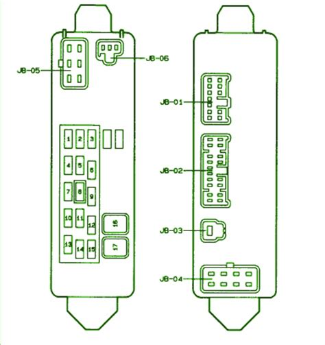 1999 mazda protege fuse box diagram circuit wiring diagrams