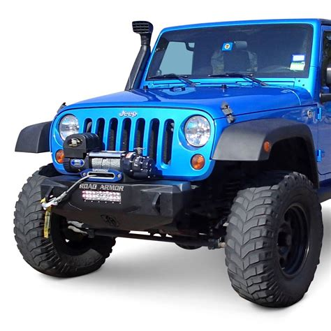 Road Armor Jeep Bumper Road Armor 174 Jeep Wrangler 2007 2017 Stealth Series