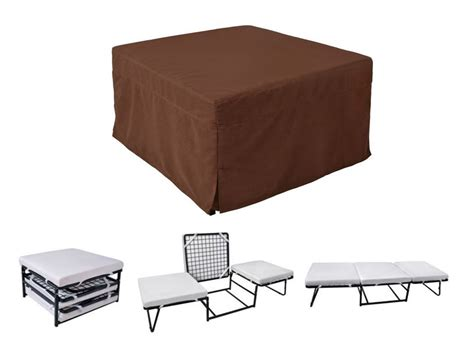 Folding Convertible Sofa Bed Ottoman Mattress Lounge