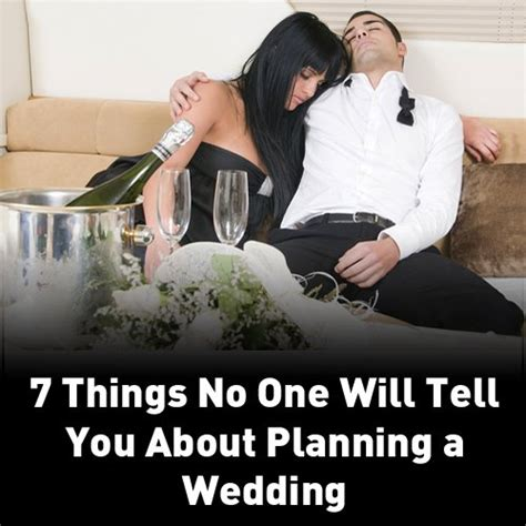 8 Things About Marriage No One Told You by Wedding Planner Collegehumor Wedding Planner