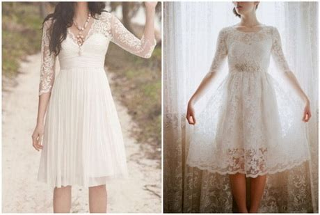 Hochzeitskleid Kurz Vintage by Vintage Brautkleid Kurz