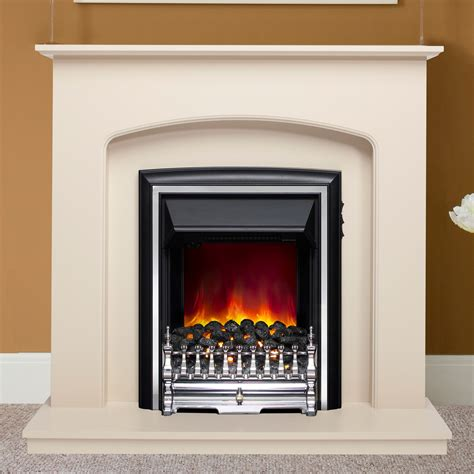 electric modern fireplace delicate finish be modern lusso electric 42 quot fireplace suite