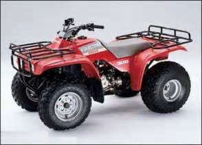 1990 Honda Fourtrax 300 1988 1994 Honda Fourtrax 300 Service Manual Trx300