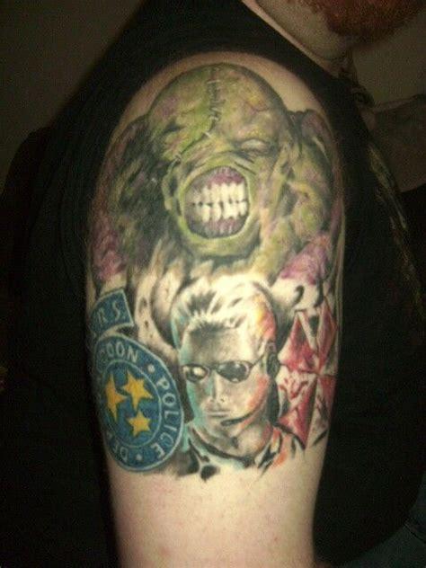 resident evil tattoo resident evil nemesis albert wesker s t a r s