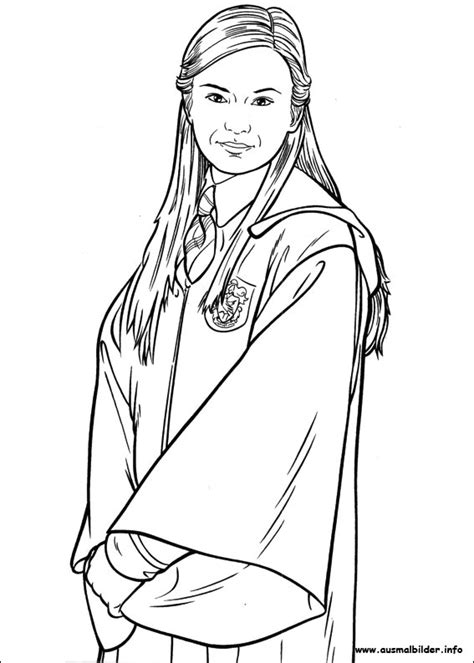 Ginny Weasley Coloring Pages free coloring pages of ginny weasley