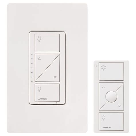 lutron caseta fan control lutron caseta wireless smart lighting dimmer switch and