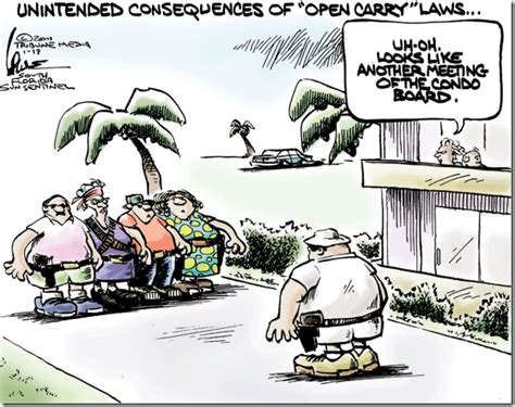 hilarious hoa stories gun cartoon of the day the view from north central idaho