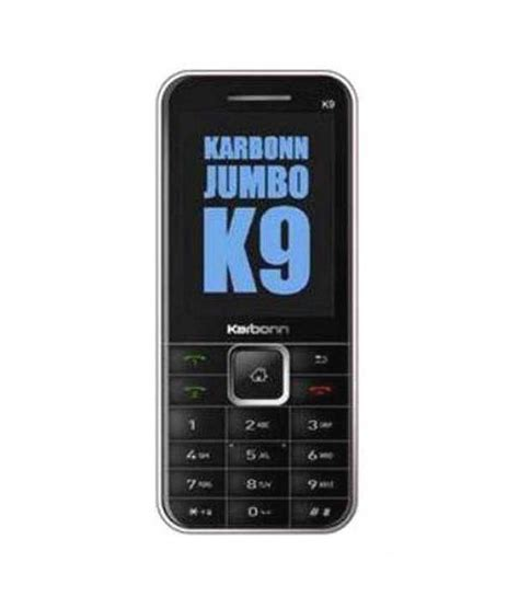 mobile phone 9 karbonn multimedia k9 feature phone at low prices