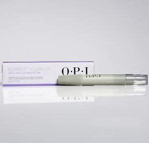 Opi Nail Corrector Pen by New Opi Nail Refillable Corrector Pen Correct