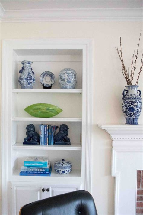 5 steps to perfectly styled shelves with west elm designer secrets how to style a bookshelf in 5 steps
