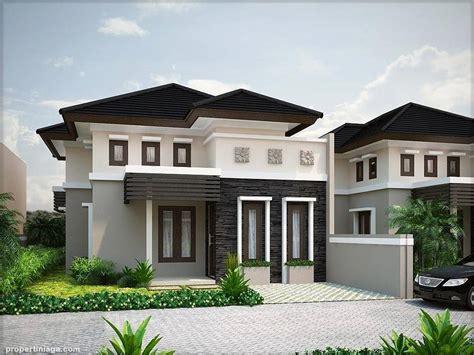 desain rumah betawi modern a model house minimalism http www propertiniaga com