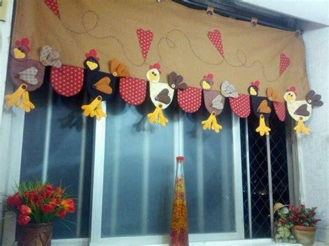 cenefas de gallinas en patchwork gallinas cenefas pinterest cortinas y pollo