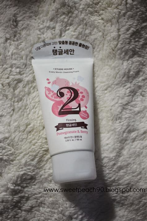 Harga Etude House Every Month Cleansing Foam sweet review etude house every month cleansing