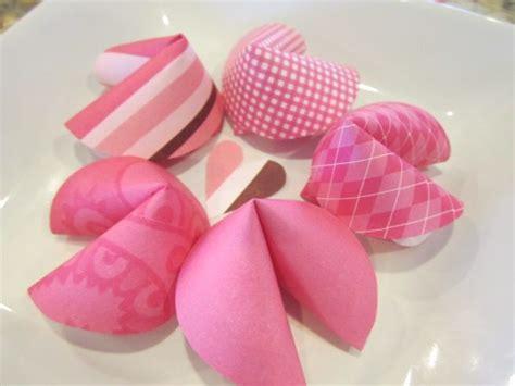 diy cookies diy paper valentines day fortune cookies note