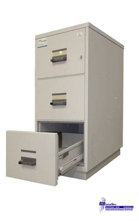 chubb 3 drawer protection cabinet fireproof safe