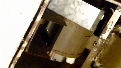 remove nutone bathroom fan new heater fan motor in nutone h965 unit youtube