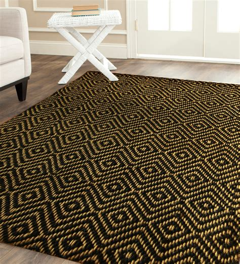 large jute area rugs large jute rug with geometric