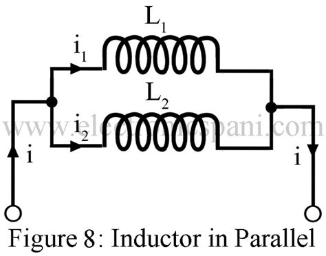 two inductors in parallel dot convention inductor in series and parallel electronics tutorials