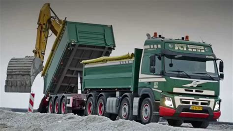build a volvo truck volvo trucks a volvo fmx 3 way tipper truck building