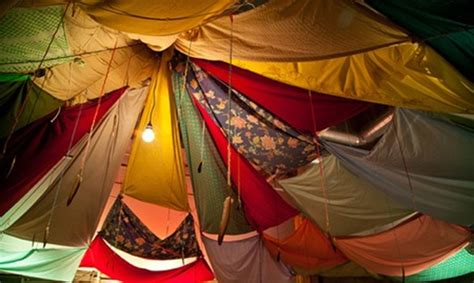 Parachute Canopy Tent Blanket Forts At York Blanket Fort Bonanza