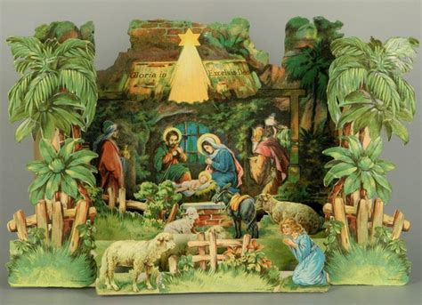 printable nativity diorama 17 best images about krippen papierkrippen paper