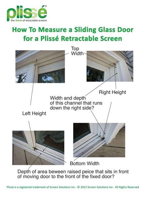 How To Measure Sliding Glass Door How To Measure A Sliding Glass Door Retractable Screens For Doors Windows
