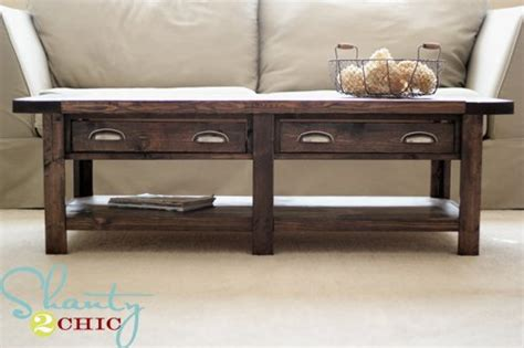 pottery barn benchwright coffee table diy pottery barn inspired benchwright coffee table