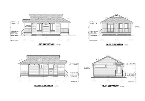 cottage blueprints cottage floor plan resort for sale ontario canada