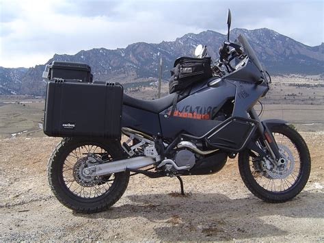 Ktm 990 Adventure Pannier Rack Ktm 950 990 Adventure 35 Liter Side Luggage