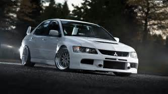 white mitsubishi evo wallpaper bbs evo ix evolution jdm japanese domestic market
