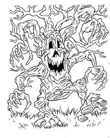 scary pics to color scary coloring pictures az coloring pages