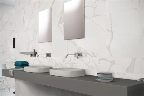 gres porcellanato effetto marmo statuario bianco