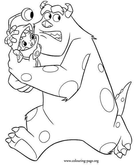 sully monsters inc coloring pages gif tattoo