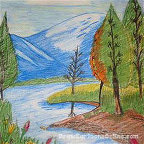 beautiful landscape drawings pictures to pin on pinterest pinsdaddy