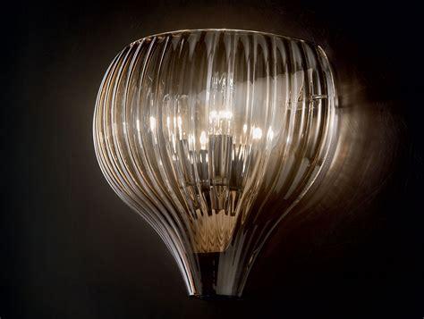 Glass Wall Lights Nella Vetrina 2543 2 Light Italian Designer Wall Light In