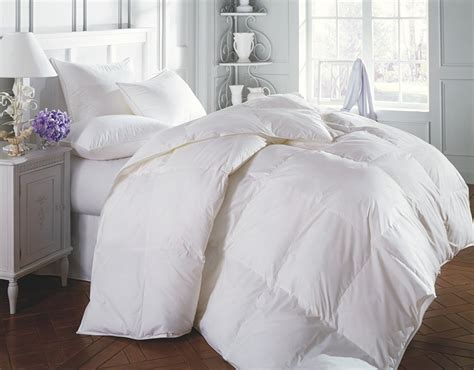 3 piece luxury white goose down alternative comforter set